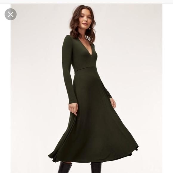 7d7b2f2c97a Aritzia Dresses   Skirts - Wilfred Cyra dress worn once!
